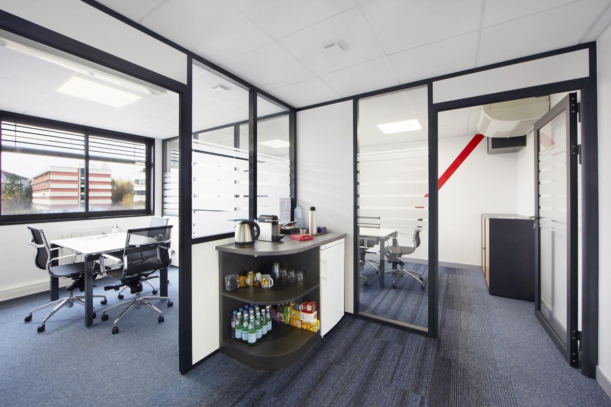 aménagement de salles de réunion pour des bureaux dans l'Ain - Copernic - architecture d'intérieur