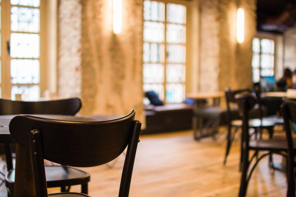 eclairage salle restaurant architecture interieure Copernic