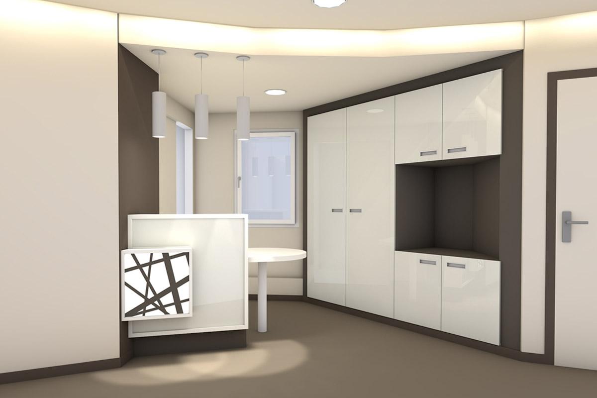 Création d'un cabinet de dermatologie - Dr Magand- Copernic Architectes d'intérieur
