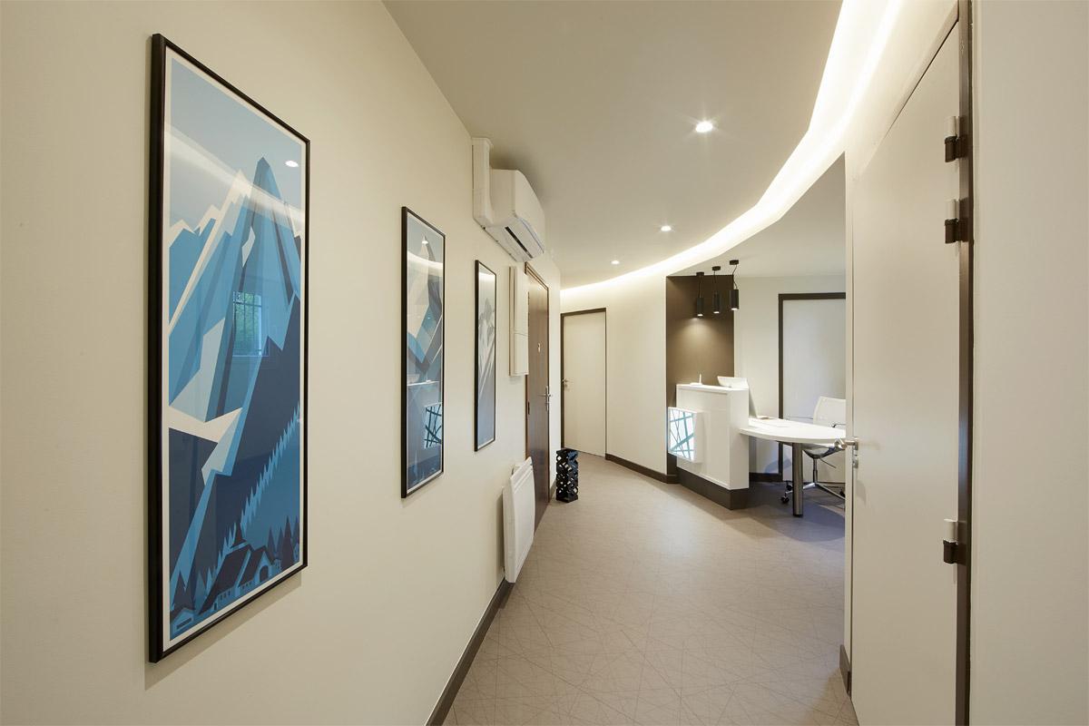 Amenagement d'un cabinet de dermatologie à Annecy - Magand - Copernic - Architectes d'intérieur