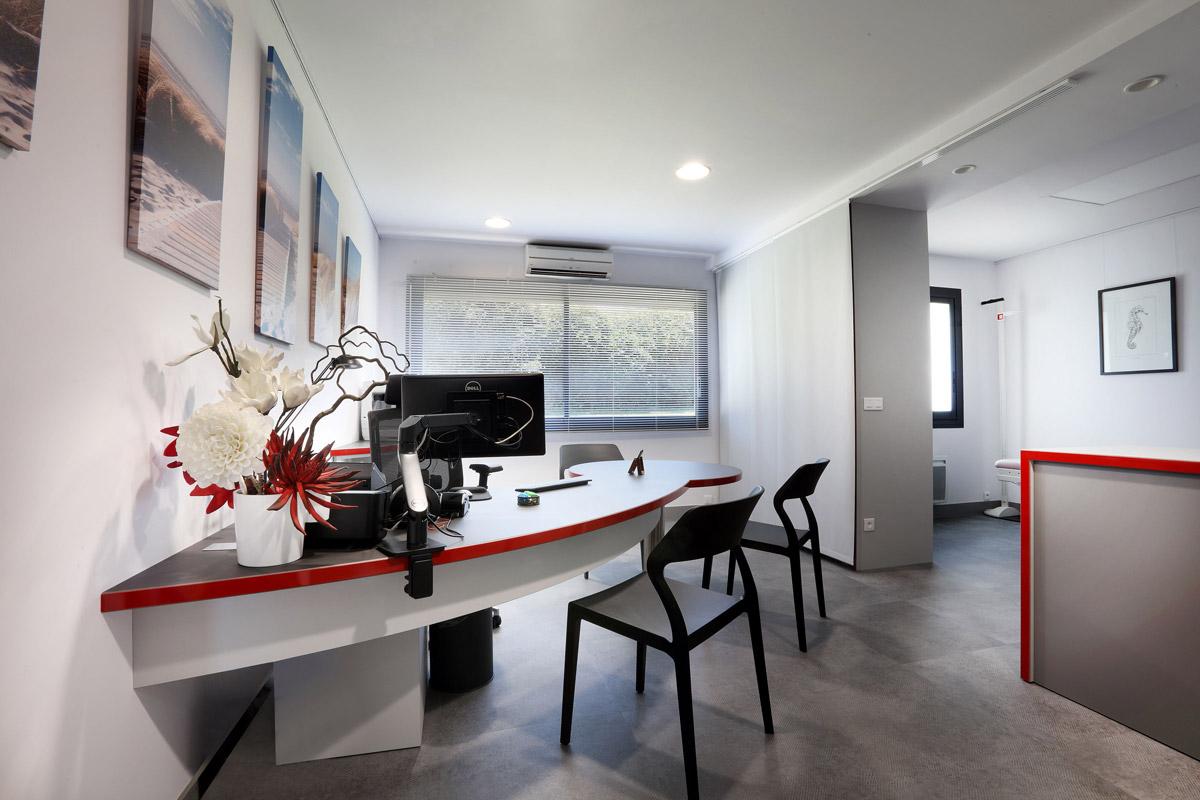 Rénovation du cabinet d'un médecin généraliste - Dr Kern - Copernic - architecture intérieure