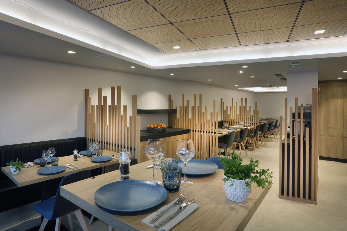 aménagement d'un restaurant - Copernic - Architecture d'intérieur