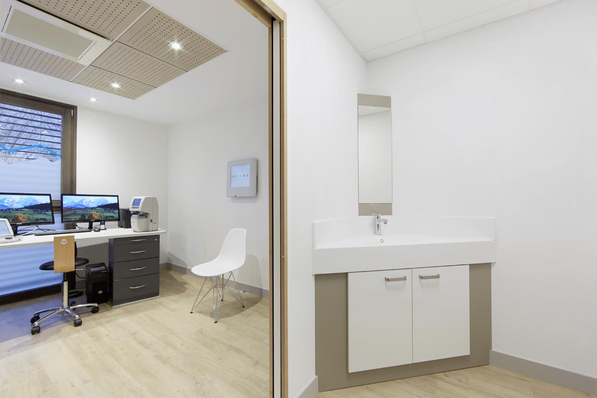 création cabinet contactologie - Annecy - Copernic - Architecture d'intérieur