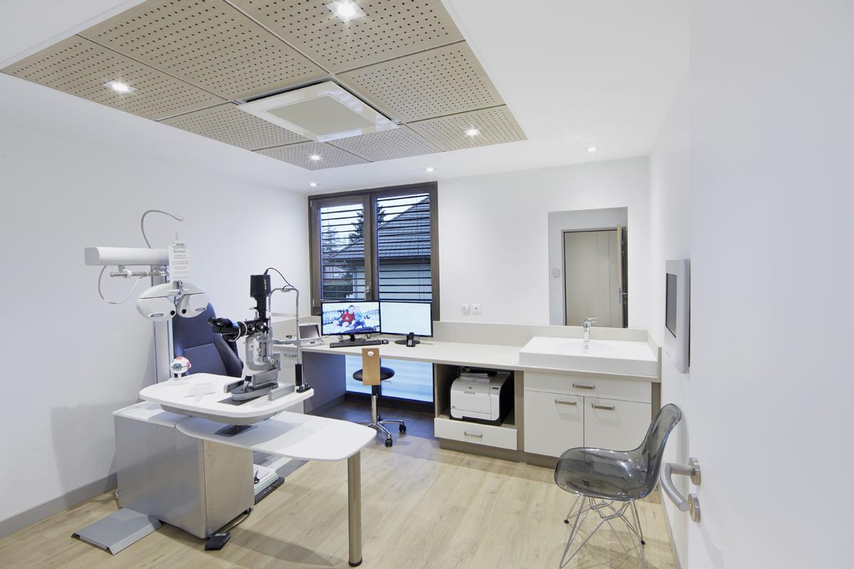 création cabinet ophtalmologie Haute Savoie - Copernic