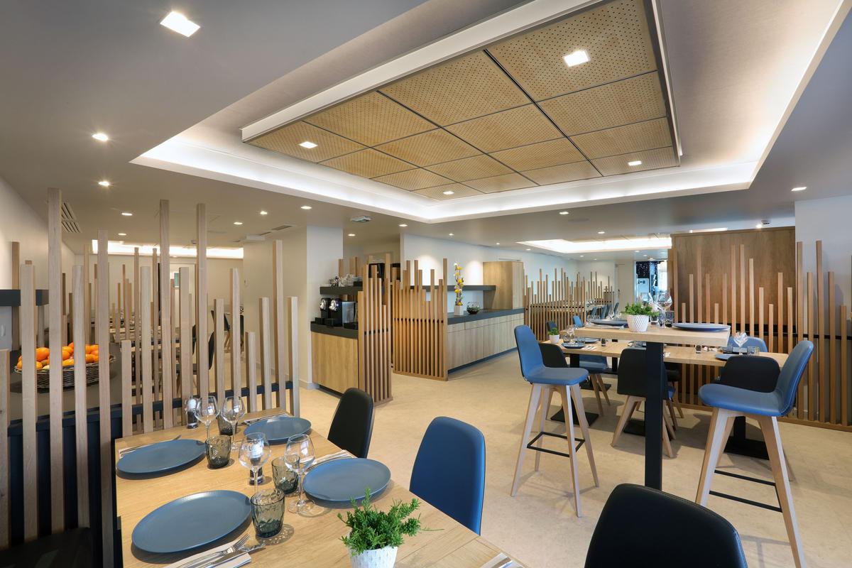 restaurant Les Cimes Annecy - Copernic - Architecture d'intérieur