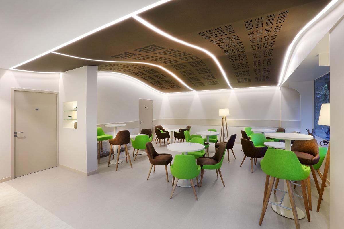 aménagement salon de thé Annecy - Copernic - Architecture d'intérieur