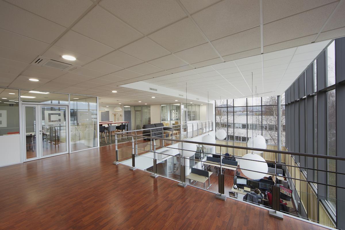 aménagement de bureaux en rénovation à Chavanod - Copernic - architecture d'intérieur
