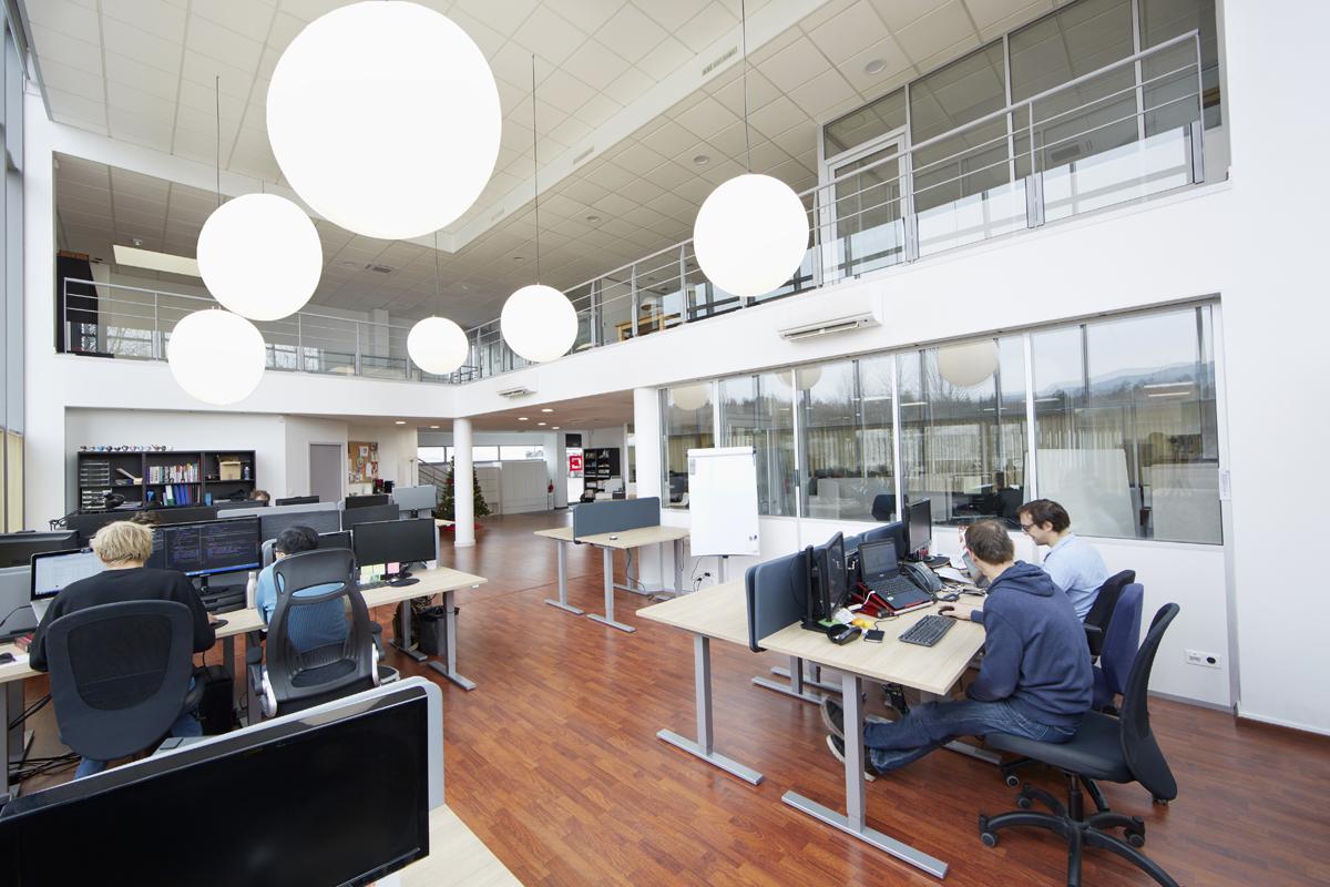 architecture intérieure de bureaux en Haute-Savoie - Copernic
