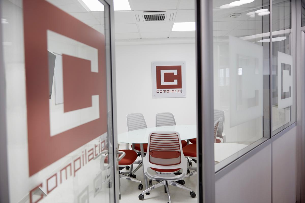 identité d'entreprise - charte intérieur en rénovation - Copernic - architecture intérieure