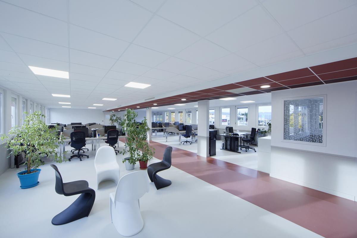 rénovation de bureaux ouverts - Copernic - architecture d'intérieur