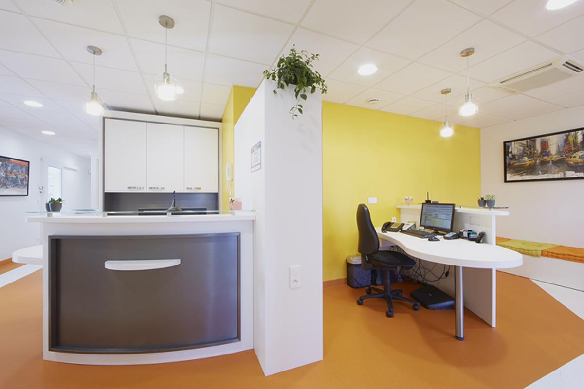 rénovation partielle d'un cabinet dentaire - Copernic - architecture intérieur