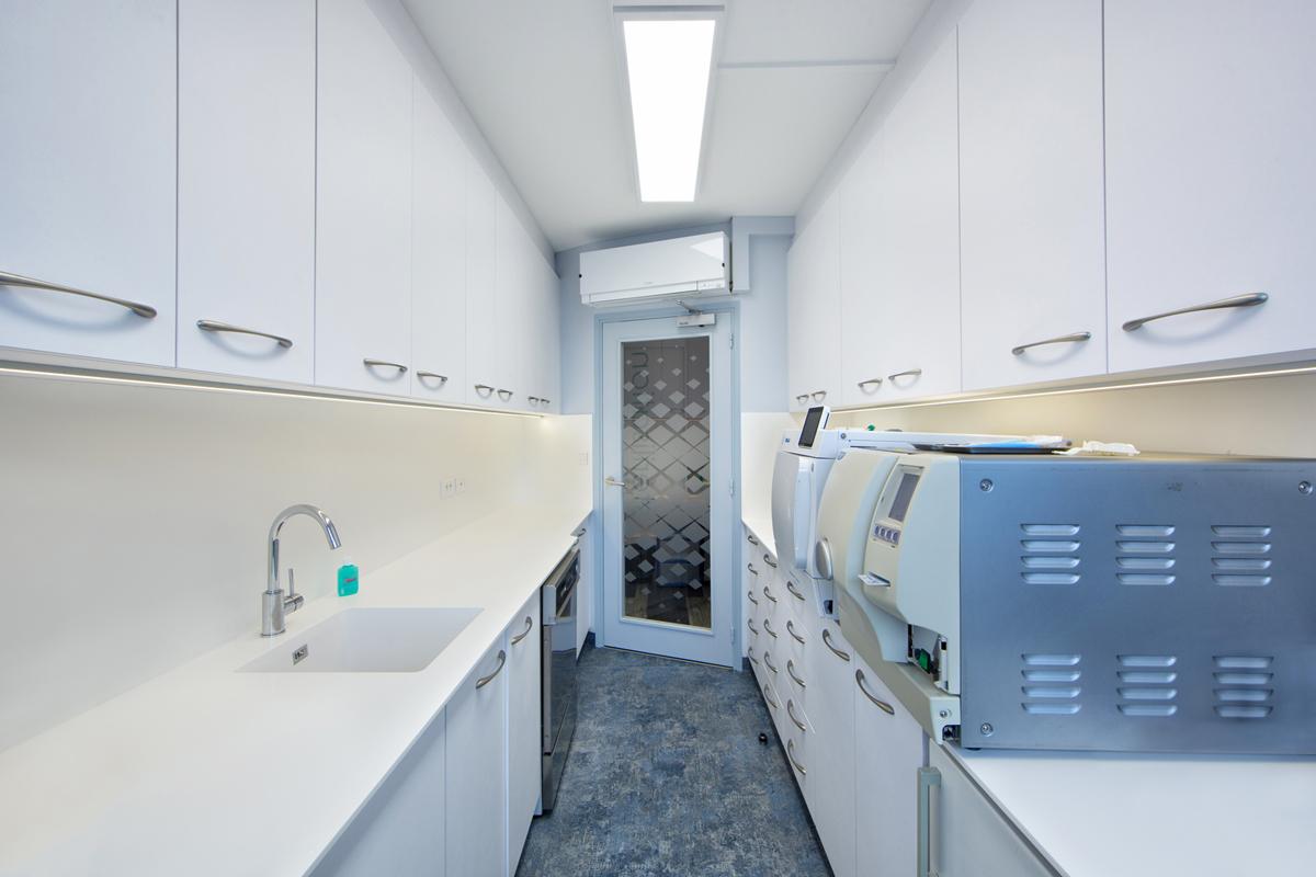 architecture d'intérieur pour la stérilisation d'un cabinet - dentaire - Copernic