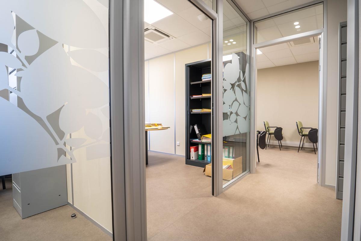 agrandissement d'un cabinet comptable en Haute-Savoie - Copernic - architecture d'intérieur